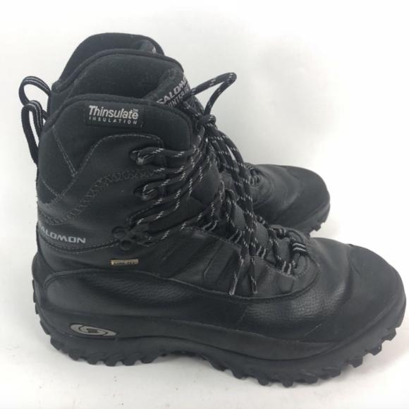 acd97d97c98a Salomon Mens Thinsulate Winter Waterproof Mid Boot.  M 5b443dcdaaa5b8f4378fbbf3